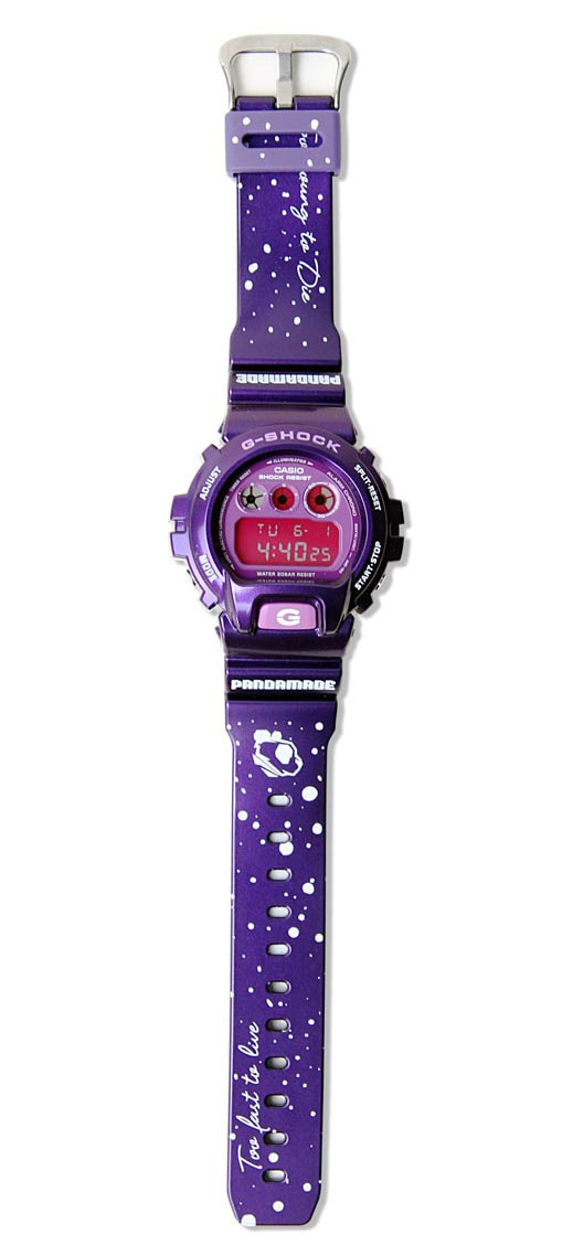 G shock, casio, limited edition, pandamade