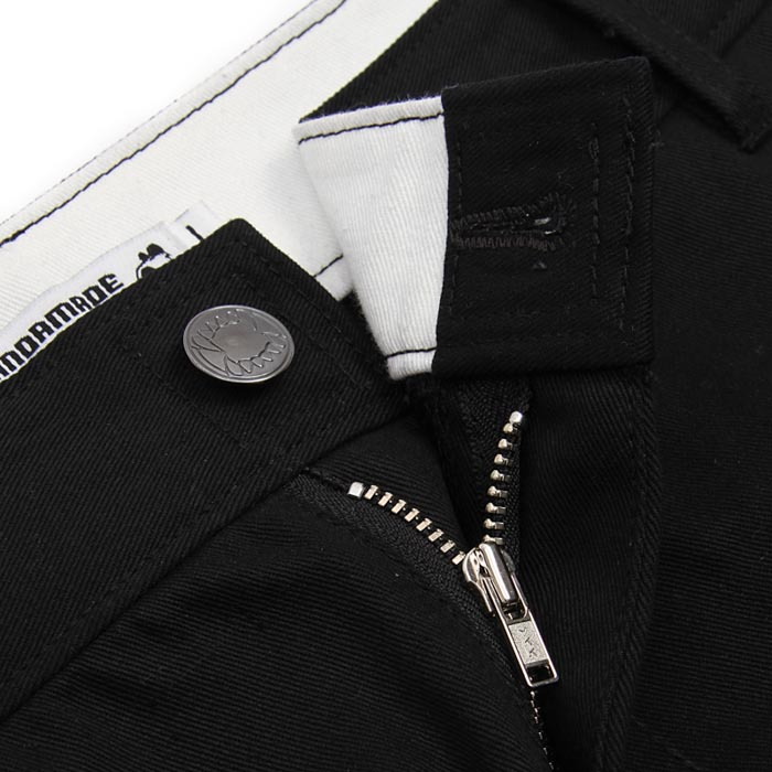 detail, zipper, button, pants, teeth