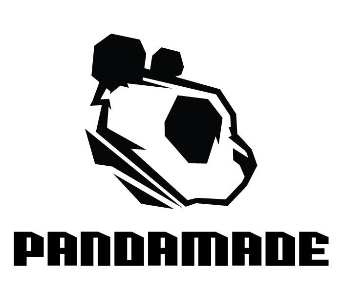pandamade, logo, branding, graphic design