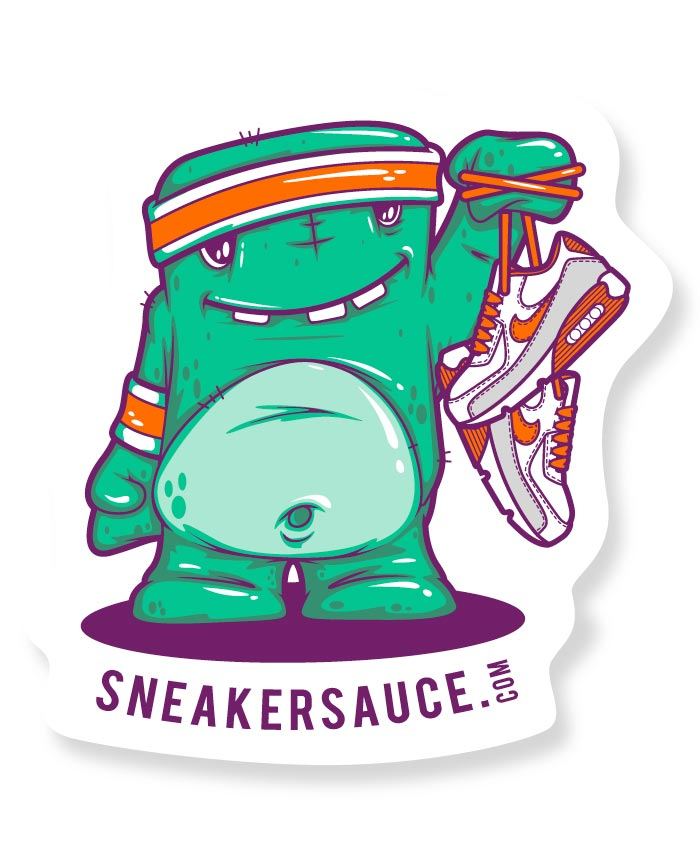 Sneaker, kicks, vector, illustration,character, monster