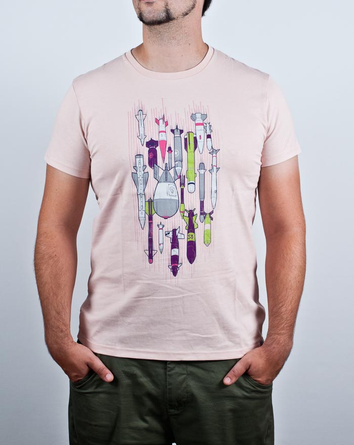 t-shirt, art, bomb, vector illustration,