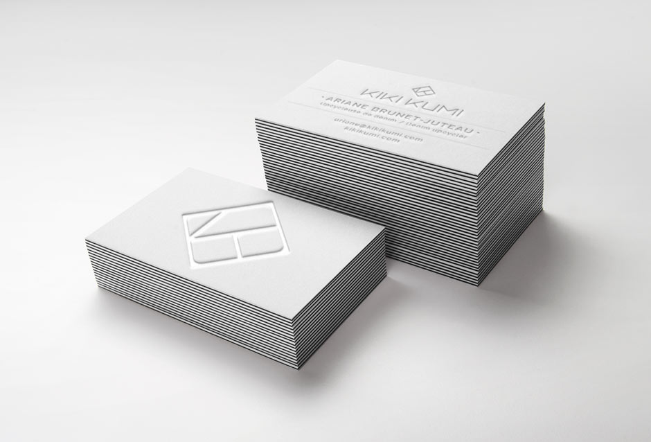 business card, emboss, branding, logo