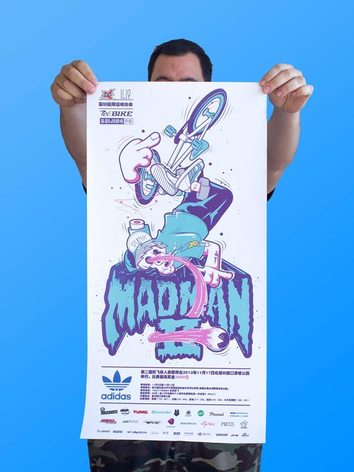 poster, vector, art, illustration, fixie , fixed gear, fixie illustration